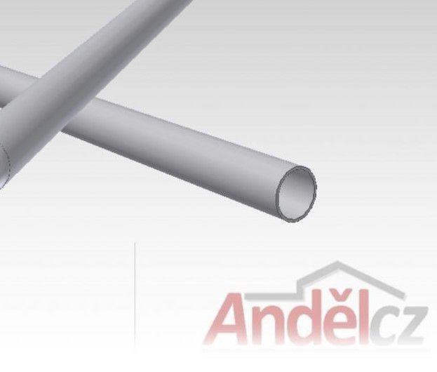 Trubka nerezová D40x2mm - délka od 20 do 600 cm