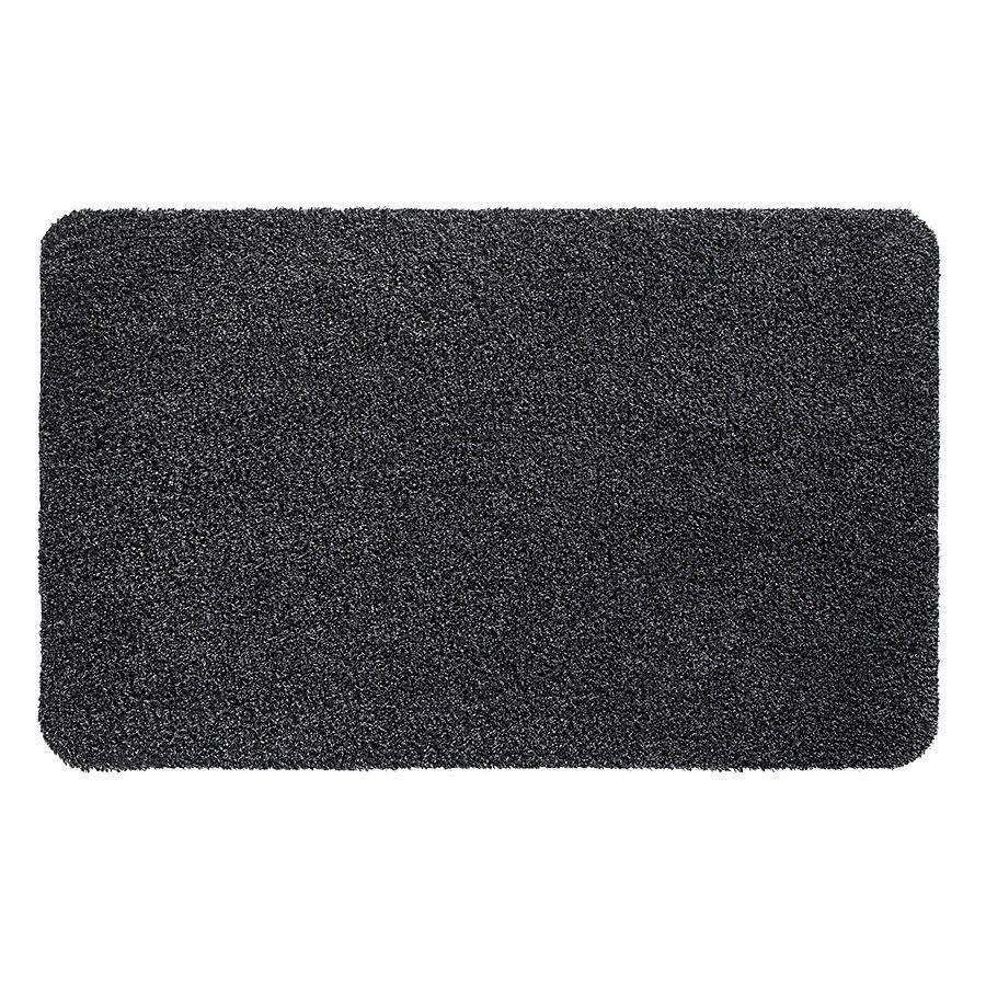 Antracitová vnitřní vstupní čistící pratelná rohož Natuflex - délka 100 cm a šířka 150 cm FLOMAT