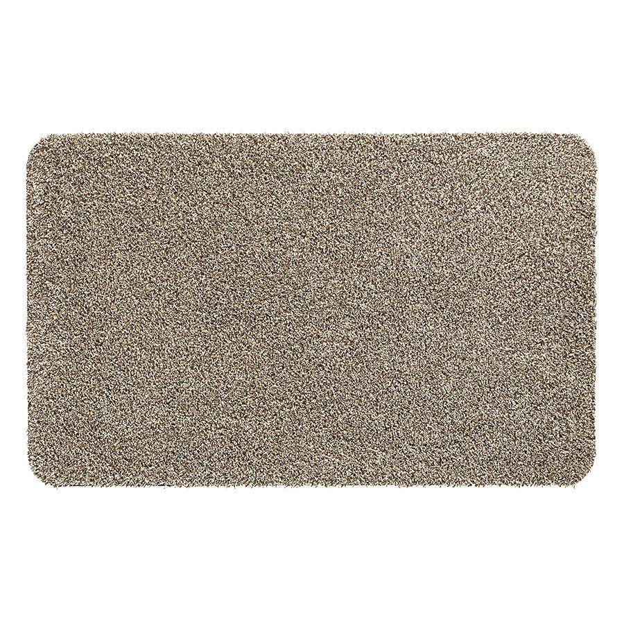 Béžová vnitřní vstupní čistící pratelná rohož Natuflex - délka 100 cm a šířka 150 cm FLOMAT