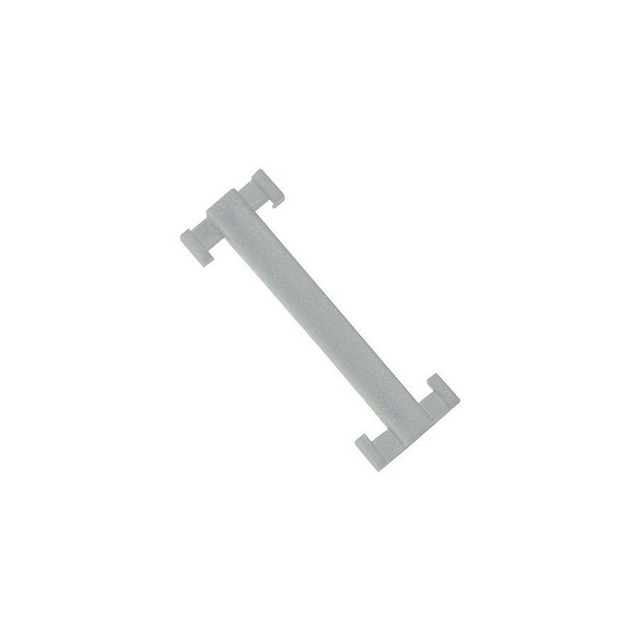 Bílá plastová spojka pro rohože Soft-Step - délka 4,5 cm a šířka 1,5 cm - 10 ks FLOMAT
