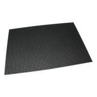 Černá gumová čistící venkovní vstupní rohož Octomat Mini - 150 x 100 x 1,25 cm