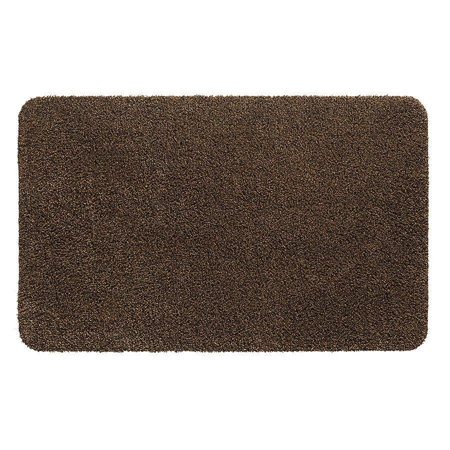 Hnědá vnitřní vstupní čistící pratelná rohož Natuflex - délka 60 cm a šířka 100 cm FLOMAT