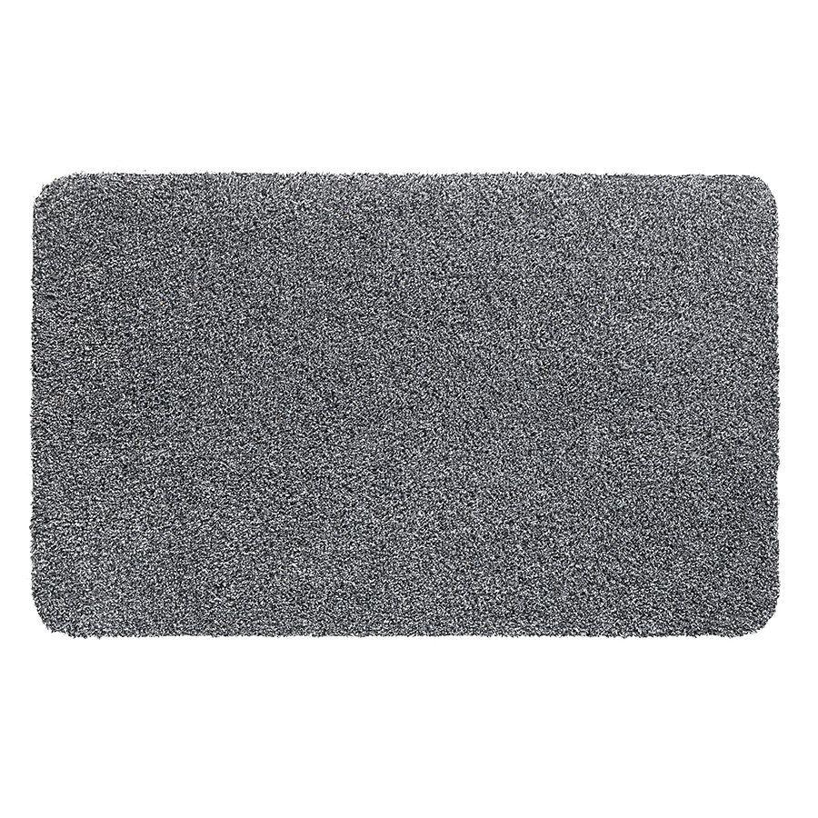 Šedá vnitřní vstupní čistící pratelná rohož Natuflex - délka 40 cm a šířka 60 cm FLOMAT