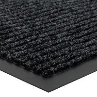 Antracitová vnitřní vstupní čistící rohož Everton - délka 120 cm, šířka 180 cm a výška 0,8 cm FLOMAT