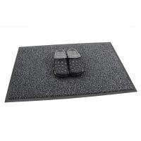 Antracitová vnitřní vstupní čistící rohož Portal (Cfl-S1) - délka 40 cm, šířka 60 cm a výška 0,75 cm FLOMAT