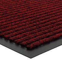 Červená vnitřní vstupní čistící rohož Everton - délka 60 cm, šířka 80 cm a výška 0,6 cm FLOMAT