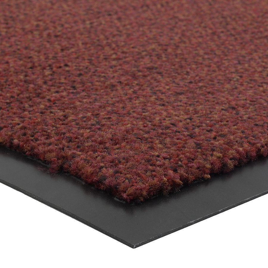 Červená vnitřní vstupní čistící rohož Portal (Cfl-S1) - délka 60 cm, šířka 90 cm a výška 0,75 cm FLOMAT