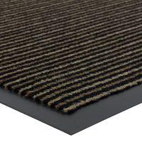 Hnědá vnitřní vstupní čistící rohož Scala - délka 40 cm, šířka 60 cm a výška 0,5 cm