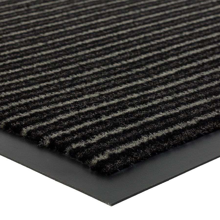 Šedá vnitřní vstupní čistící rohož Scala - délka 60 cm, šířka 80 cm a výška 0,5 cm FLOMAT