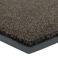 Tmavě hnědá vnitřní vstupní čistící rohož Portal (Cfl-S1) - délka 135 cm, šířka 200 cm a výška 0,75 cm
