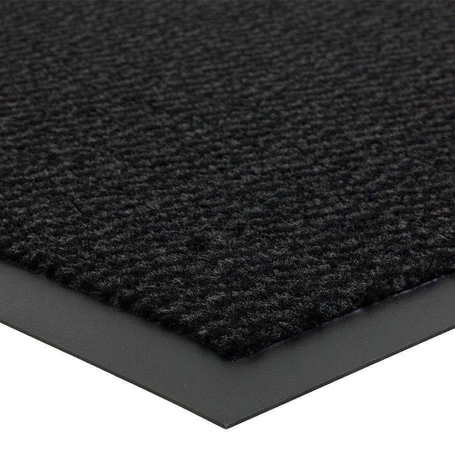 Antracitová vnitřní vstupní čistící rohož Spectrum - délka 120 cm, šířka 180 cm a výška 0,5 cm FLOMAT