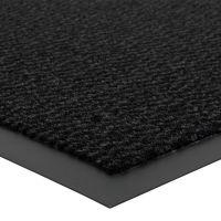 Antracitová vnitřní vstupní čistící rohož Spectrum - délka 40 cm, šířka 60 cm a výška 0,5 cm FLOMAT