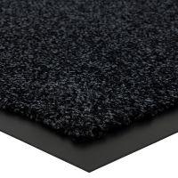 Černá vnitřní vstupní čistící rohož Briljant, FLOMA (Bfl-S1) - délka 40 cm, šířka 60 cm a výška 0,9 cm FLOMAT