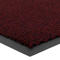 Červená vnitřní vstupní čistící rohož Spectrum - délka 90 cm, šířka 150 cm a výška 0,5 cm FLOMAT