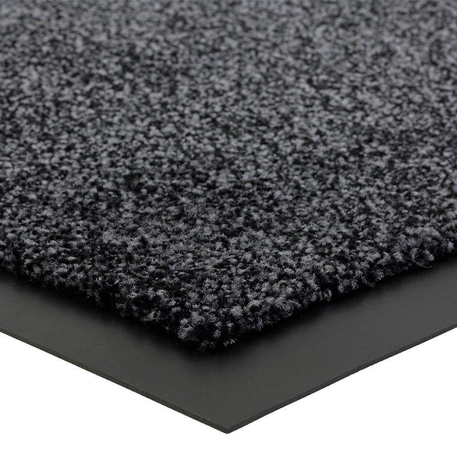 Grafitová vnitřní vstupní čistící rohož Briljant (Bfl-S1) - délka 90 cm, šířka 150 cm a výška 0,9 cm FLOMAT