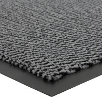 Šedá vnitřní vstupní čistící rohož Spectrum - délka 40 cm, šířka 60 cm a výška 0,5 cm FLOMAT