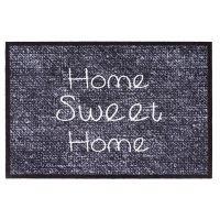 Vnitřní vstupní čistící rohož Mondial, Home sweat home, FLOMA - délka 50 cm a šířka 75 cm