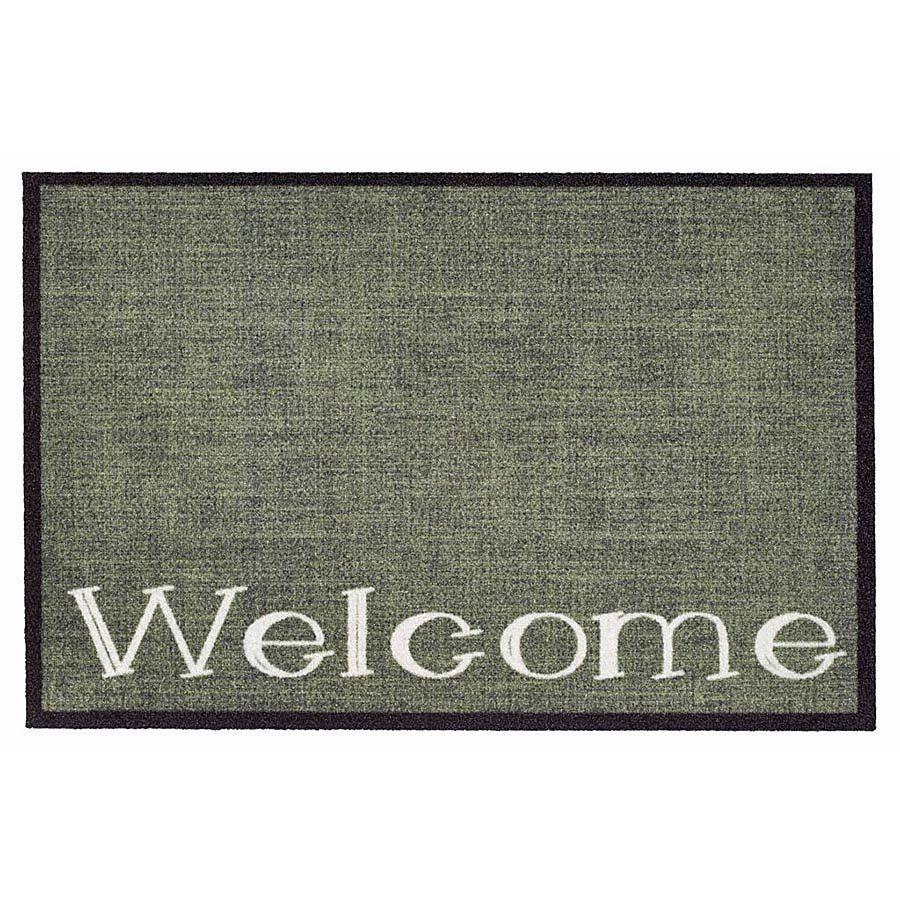 Vnitřní vstupní čistící rohož Mondial, Welcome, FLOMA - délka 50 cm a šířka 75 cm FLOMAT