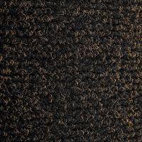 Černá textilní vstupní vnitřní čistící zátěžová rohož Catrine, FLOMAT - délka 130 cm, šířka 180 cm a výška 1,35 cm
