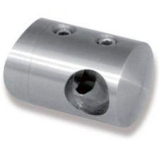 Držák výplňe D16-42mm průchozí - zábradlí