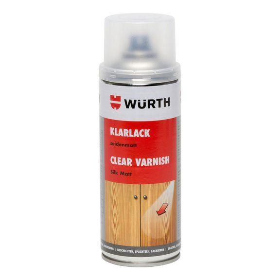 Bezbarvý lak Wuerth hedvábně matný 400 ml