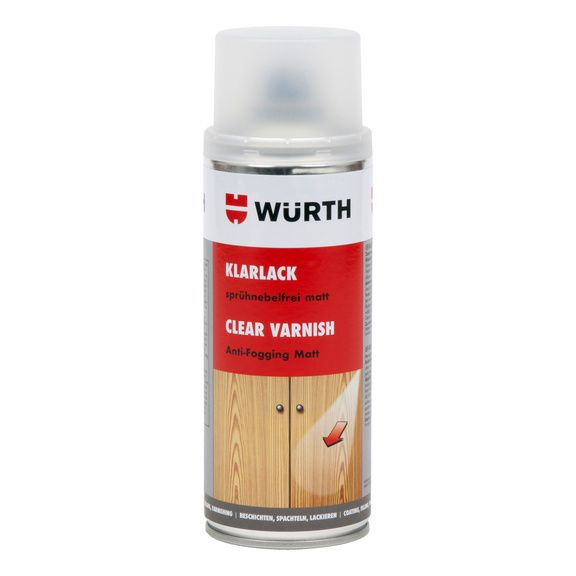 Bezbarvý lak Wuerth matný 400 ml