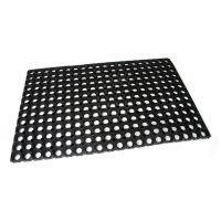 Gumová vstupní čistící rohož na hrubé nečistoty Honeycomb - 80 x 50 x 2,2 cm