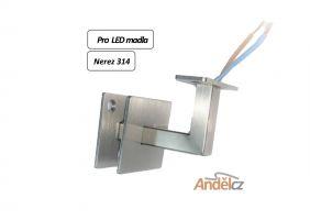 Konzolka madla Hranatá-16 pro LED