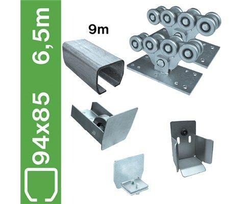 Sestava pro samonosné brány do 6,5m, Zn, 94x85mm