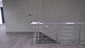 Sloupek zábradlí HRANATÝ VRCHNÍ pro schodiště V1
