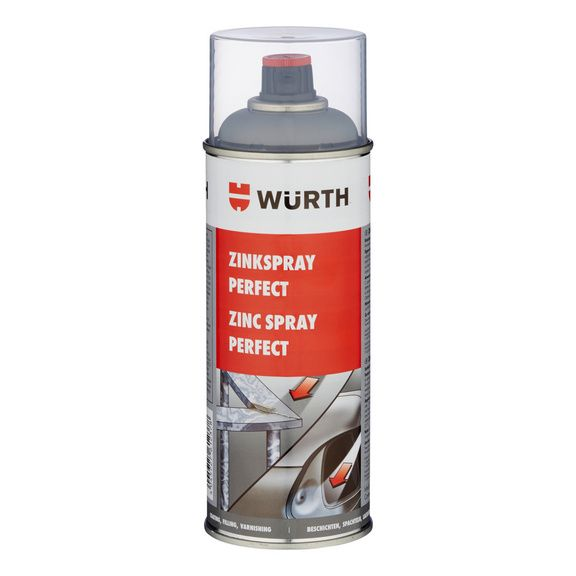 ZINEK Matný ve SPREJI PERFECT 400ML - Würth 400ml