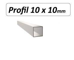 Profil 10 x 10 mm