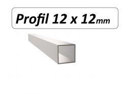 Profil 12 x 12 mm