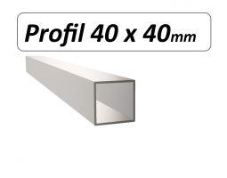 Profil 40 x 40mm