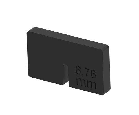 Těsnění držáku 21 45x45 pro sklo 6,76mm