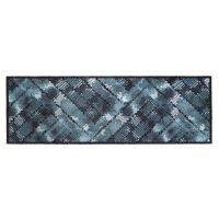 Vnitřní vstupní čistící pratelná rohož Prestige, Blue texture, FLOMA - délka 50 cm a šířka 150 cm