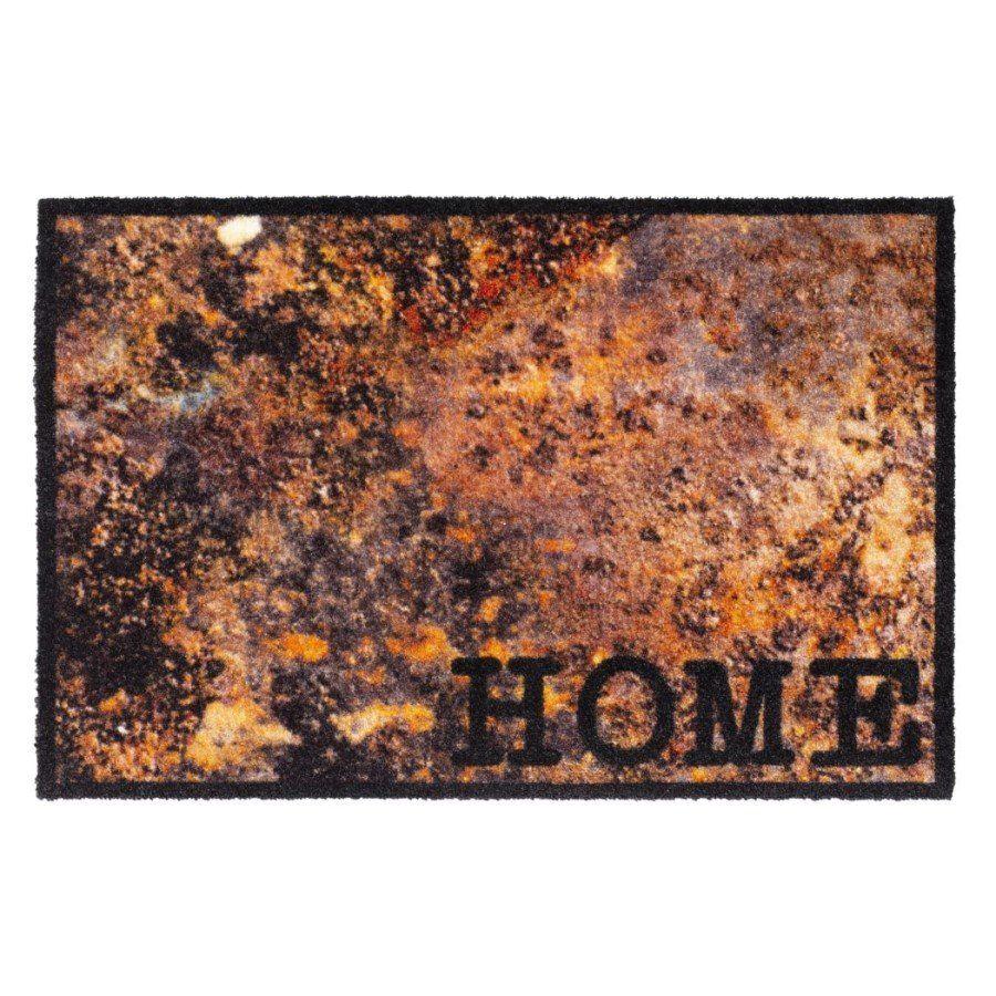 Vnitřní vstupní čistící pratelná rohož Prestige, Home lava, FLOMA - délka 50 cm a šířka 75 cm FLOMAT