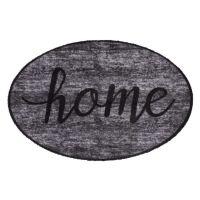 Vnitřní vstupní čistící pratelná rohož Prestige, Home grey, FLOMA - délka 50 cm a šířka 75 cm