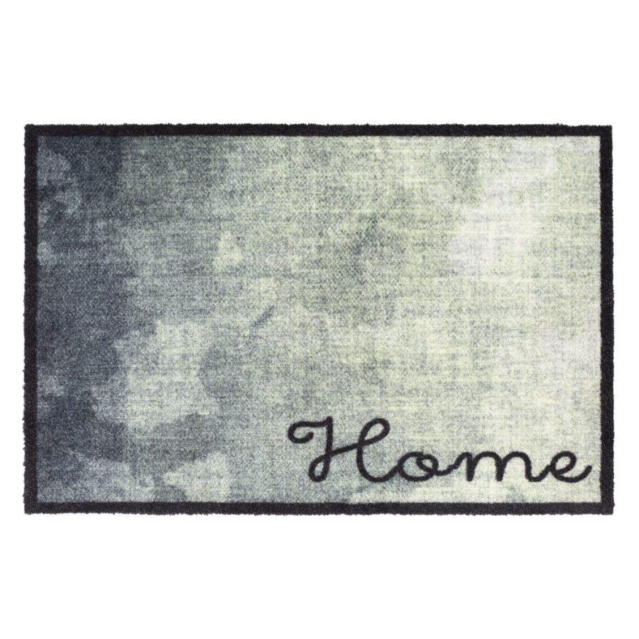 Vnitřní vstupní čistící pratelná rohož Prestige, Home green, FLOMA - délka 50 cm a šířka 75 cm FLOMAT