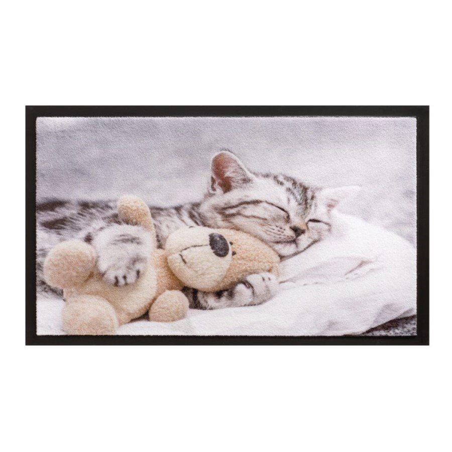 Vnitřní vstupní čistící rohož Image, Teddybear, FLOMA - délka 40 cm a šířka 60 cm FLOMAT