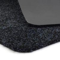 Tmavě modrá vnitřní vstupní čistící pratelná rohož Majestic - délka 40 cm a šířka 60 cm FLOMAT