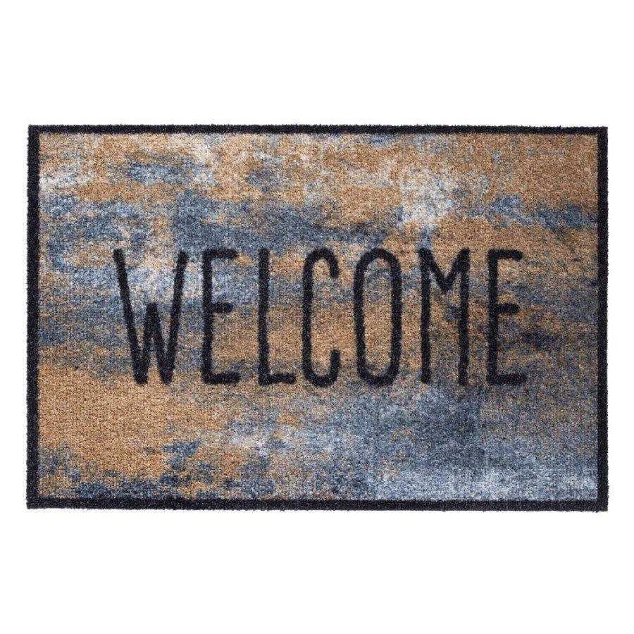 Vnitřní vstupní čistící rohož Optima, Stone Welcome, FLOMA - délka 50 cm, šířka 75 cm a výška 0,7 cm FLOMAT