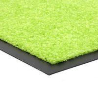 Zelená vnitřní vstupní čistící pratelná rohož Twister - délka 90 cm a šířka 150 cm FLOMAT
