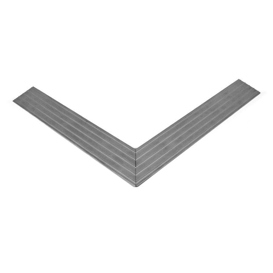 Hliníkový náběhový rám pro vstupní rohože a čistící zóny 100 x 150 cm FLOMA - šířka 4,5 cm a výška 1 cm FLOMAT