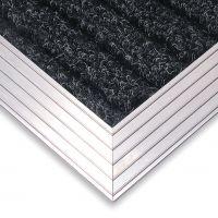 Hliníkový náběhový rám pro vstupní rohože a čistící zóny 60 x 90 cm FLOMA - šířka 4,5 cm a výška 1 cm FLOMAT
