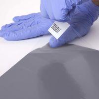 Šedá lepící dezinfekční antibakteriální dekontaminační rohož Antibacterial Sticky Mat, FLOMA - délka 60 cm a šířka 115 cm - 60 listů FLOMAT