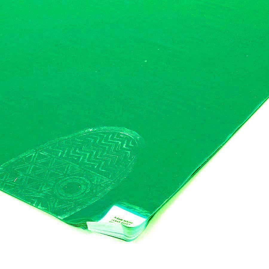 Zelená lepící dezinfekční antibakteriální dekontaminační rohož Antibacterial Sticky Mat, FLOMA - délka 60 cm a šířka 115 cm - 60 listů FLOMAT