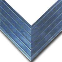 Hliníkový náběhový rám pro vstupní rohože a čistící zóny 100 x 100 cm FLOMA - šířka 4,5 cm a výška 2 cm FLOMAT