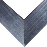 Hliníkový náběhový rám pro vstupní rohože a čistící zóny 100 x 100 cm FLOMA - šířka 6,5 cm a výška 1,6 cm FLOMAT