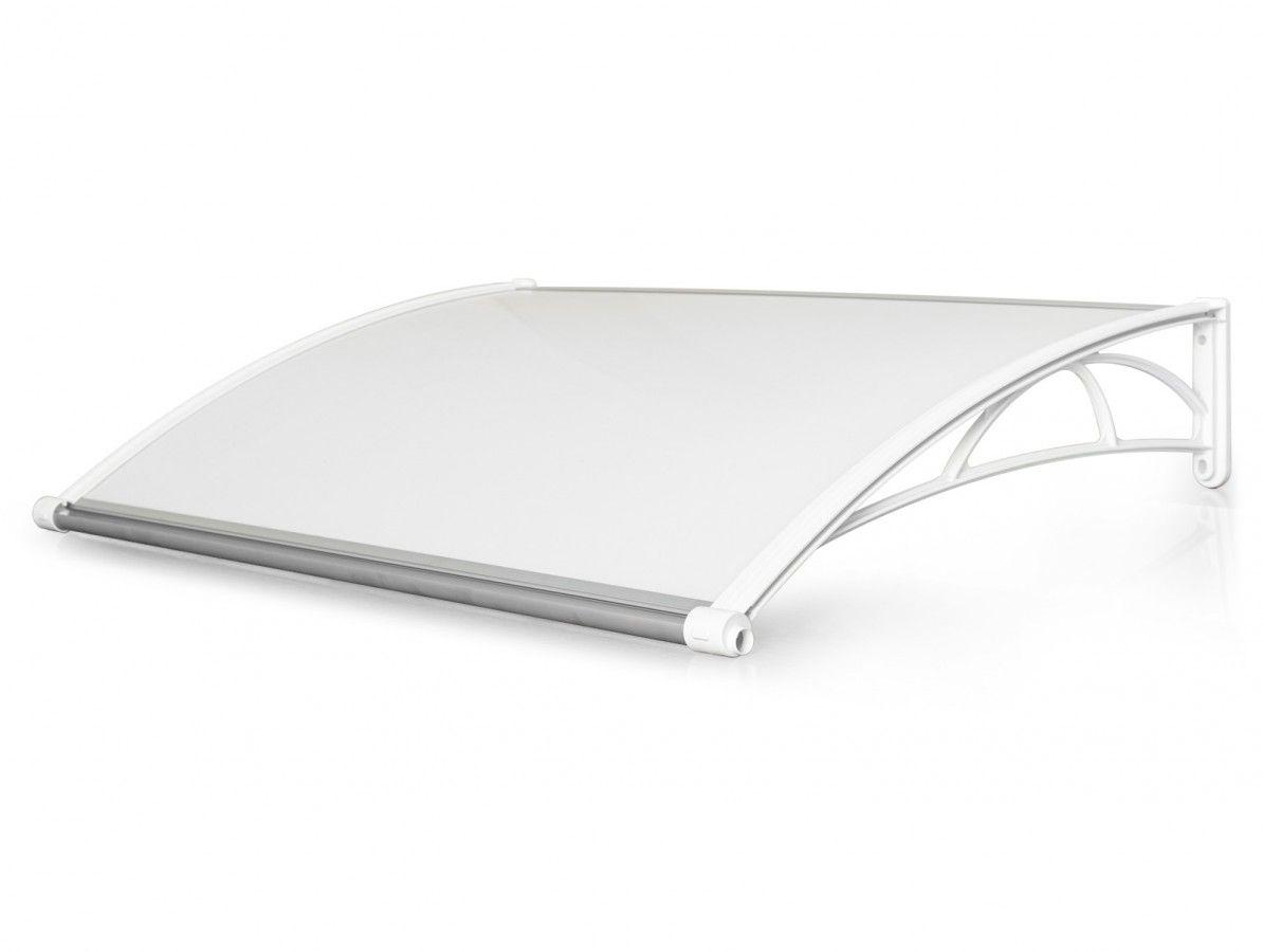 Vchodová stříška Valtellina 120 x 82 cm bílá / čirá